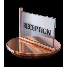 Табличка для стойки регистрации