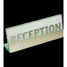 Табличка для стойки регистрации Royal