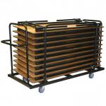 Тележки для перевозки и хранения столов и стульев