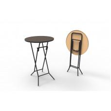 Стол коктейльный складной РИВЬЕРА D80