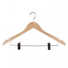 Плечики для одежды HH-001, светлое дерево