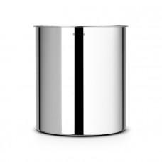 Корзина для бумаг Brabantia 7 л, стальная полированная