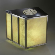 Стол с диспенсером для посуды DECO Trapezoid Lowerator Side Station