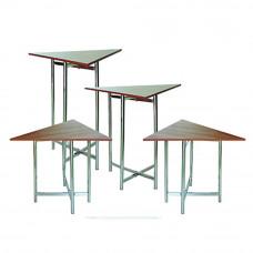 Комплект треугольных буфетных столов