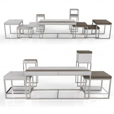 Буфетные складные столы Chic Cube