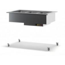 Тепловой встраиваемый модуль для шведского стола ТММ-ВВМТ