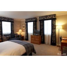 Интерьерный текстиль для гостиничного номера 03