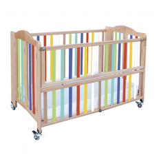 Детская складная кроватка  BABY BBY 212
