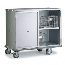 Тележка для перевозки чистого белья 2 уровня Х1200.500
