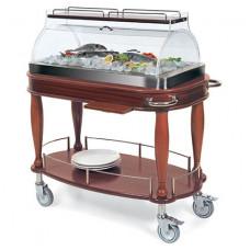 Тележка для рыбы с автономным охлаждением, серия Gold GLBT 102