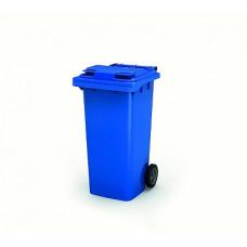 Контейнер для мусора 120 л с крышкой (Синий)