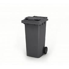 Контейнер для мусора 120 л с крышкой (Серый)
