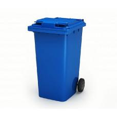 Контейнер для мусора 240 л с крышкой (Синий)