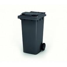 Контейнер для мусора 240 л с крышкой (Серый)