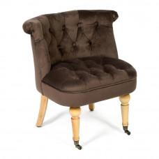 Кресло Secret De Maison Bunny (mod. C102) дерево береза, ткань: вельвет, 76х70х63см, коричневый