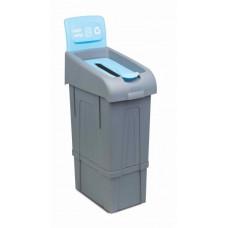 Урна для раздельного сбора мусора PROCYCLE 11, бумажные отходы