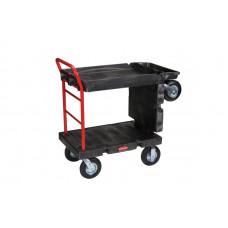 Тележка-платформа на пневмо-колесах