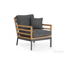 Zalongo кресло, алюминий/тик, 4285-72-73