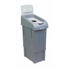 Урна для раздельного сбора мусора PROCYCLE 12, металлические отходы.