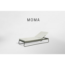 MOMA лежак ANTHRACITE-CARBON
