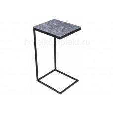 Журнальный стол Геркулес серый мрамор